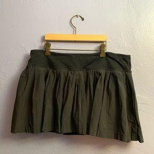 Lululemon Pleat To Street Skirt Black Women's